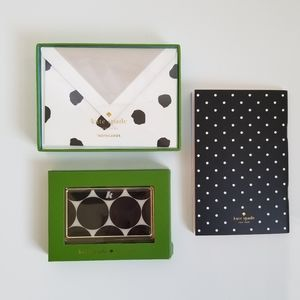 Kate spade Cardholder, Card Set and Note book